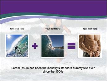 Kite surfer PowerPoint Template - Slide 22