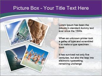Kite surfer PowerPoint Template - Slide 23