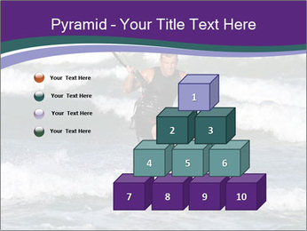 Kite surfer PowerPoint Template - Slide 31