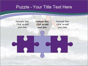 Kite surfer PowerPoint Template - Slide 42