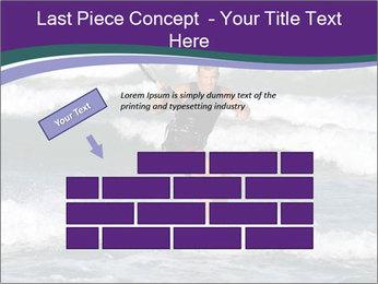 Kite surfer PowerPoint Template - Slide 46