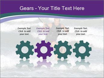Kite surfer PowerPoint Template - Slide 48