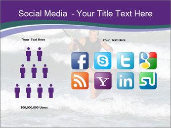 Kite surfer PowerPoint Template - Slide 5