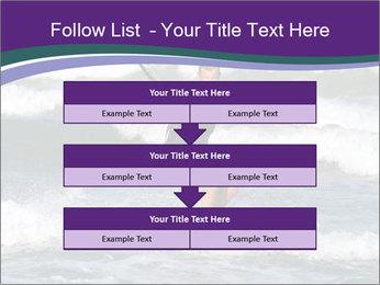 Kite surfer PowerPoint Template - Slide 60