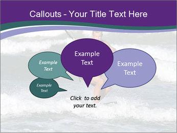 Kite surfer PowerPoint Template - Slide 73