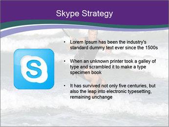 Kite surfer PowerPoint Template - Slide 8