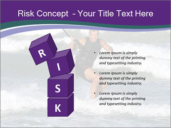 Kite surfer PowerPoint Template - Slide 81