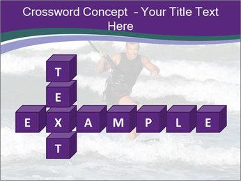 Kite surfer PowerPoint Template - Slide 82