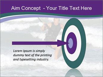Kite surfer PowerPoint Template - Slide 83