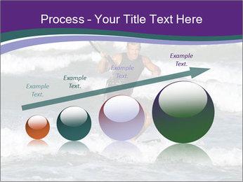 Kite surfer PowerPoint Template - Slide 87