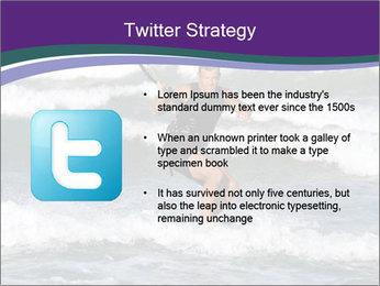Kite surfer PowerPoint Template - Slide 9