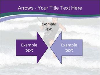 Kite surfer PowerPoint Template - Slide 90