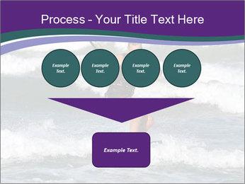 Kite surfer PowerPoint Template - Slide 93