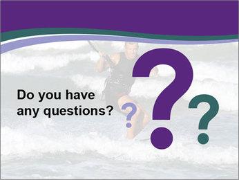 Kite surfer PowerPoint Template - Slide 96