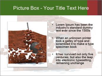 Ball destroying PowerPoint Template - Slide 13