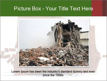 Ball destroying PowerPoint Template - Slide 15