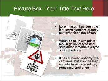 Ball destroying PowerPoint Template - Slide 17