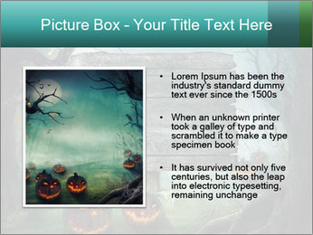 Halloween design PowerPoint Template - Slide 13