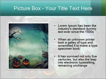 Halloween design PowerPoint Templates - Slide 13