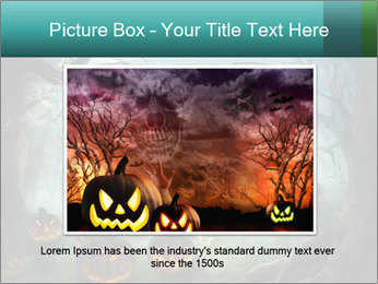 Halloween design PowerPoint Template - Slide 16