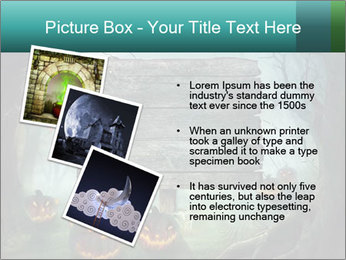 Halloween design PowerPoint Templates - Slide 17