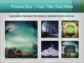 Halloween design PowerPoint Templates - Slide 19