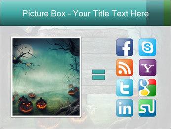 Halloween design PowerPoint Templates - Slide 21