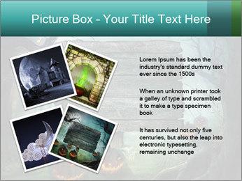 Halloween design PowerPoint Templates - Slide 23