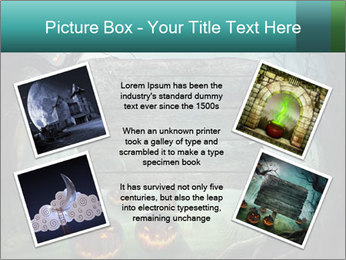 Halloween design PowerPoint Template - Slide 24