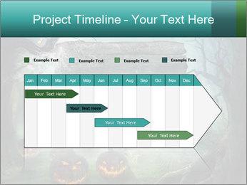 Halloween design PowerPoint Templates - Slide 25