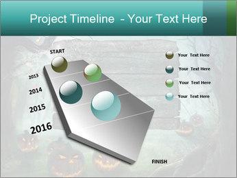Halloween design PowerPoint Templates - Slide 26