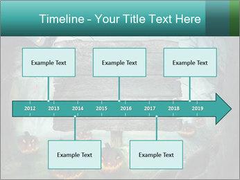 Halloween design PowerPoint Templates - Slide 28