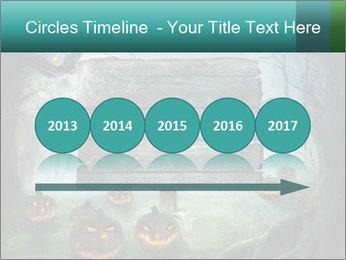 Halloween design PowerPoint Templates - Slide 29