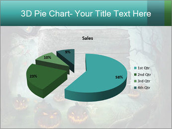 Halloween design PowerPoint Templates - Slide 35