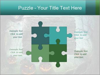 Halloween design PowerPoint Templates - Slide 43