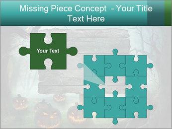 Halloween design PowerPoint Templates - Slide 45