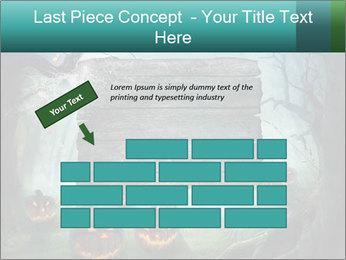 Halloween design PowerPoint Templates - Slide 46