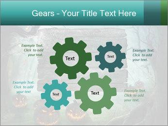 Halloween design PowerPoint Templates - Slide 47