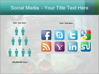 Halloween design PowerPoint Template - Slide 5