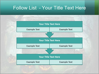 Halloween design PowerPoint Templates - Slide 60