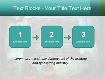 Halloween design PowerPoint Template - Slide 71