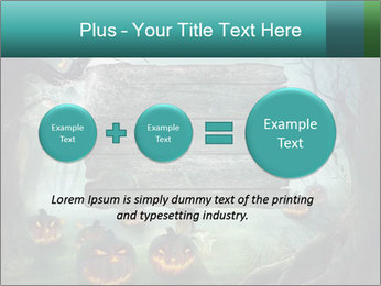 Halloween design PowerPoint Template - Slide 75