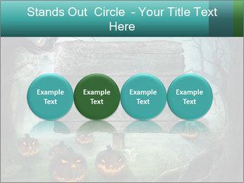 Halloween design PowerPoint Templates - Slide 76