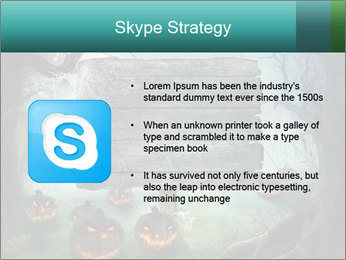 Halloween design PowerPoint Template - Slide 8