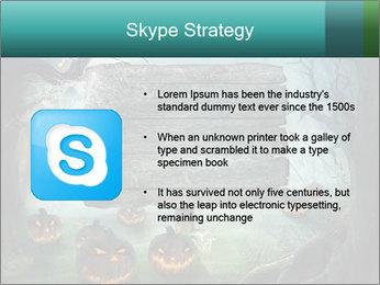 Halloween design PowerPoint Templates - Slide 8