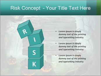 Halloween design PowerPoint Template - Slide 81