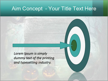 Halloween design PowerPoint Templates - Slide 83