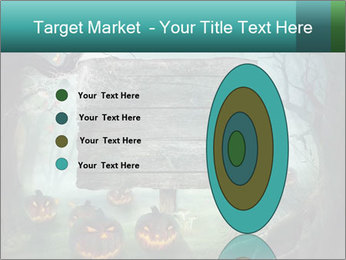 Halloween design PowerPoint Template - Slide 84