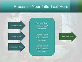 Halloween design PowerPoint Template - Slide 85