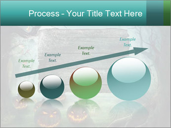 Halloween design PowerPoint Template - Slide 87